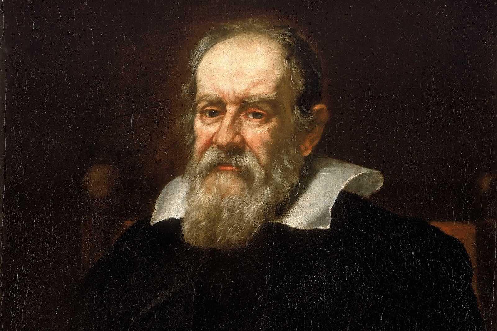 Galileo Galilei, bức chân dung năm 1636 bởi Justus Sustermans