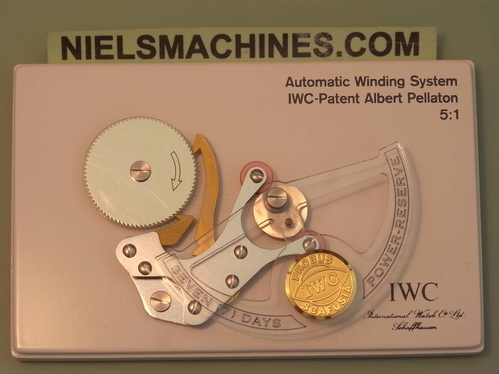 IWC Model Automatic Winding System Albert Pellaton