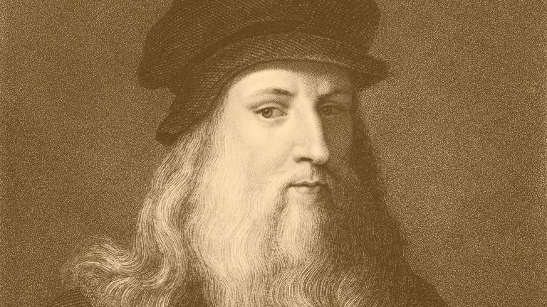 Thiên tài Leonardo da Vinci (1452-1519) nguồn cảm hứng của bộ sưu tập IWC Da Vinci