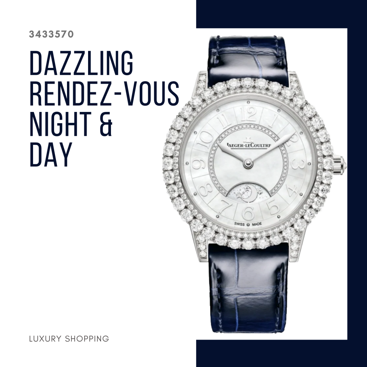 đồng hồ nữ Jaeger-LeCoultre 3433570 Dazzling Rendez-Vous Night & Day