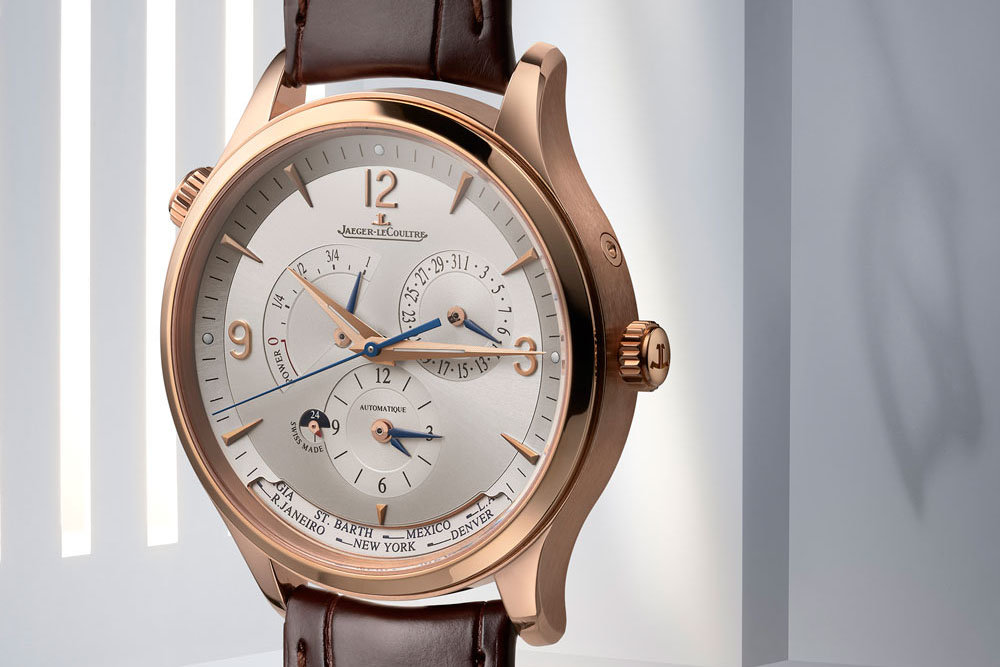Jaeger-LeCoultre Master Control Geographic Le Grand Rose Gold