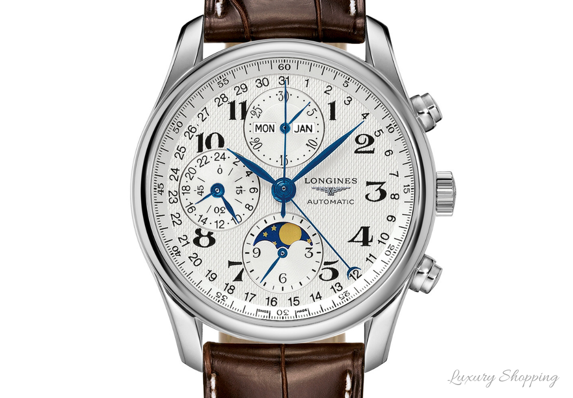 dong ho longines chronograph moonphase