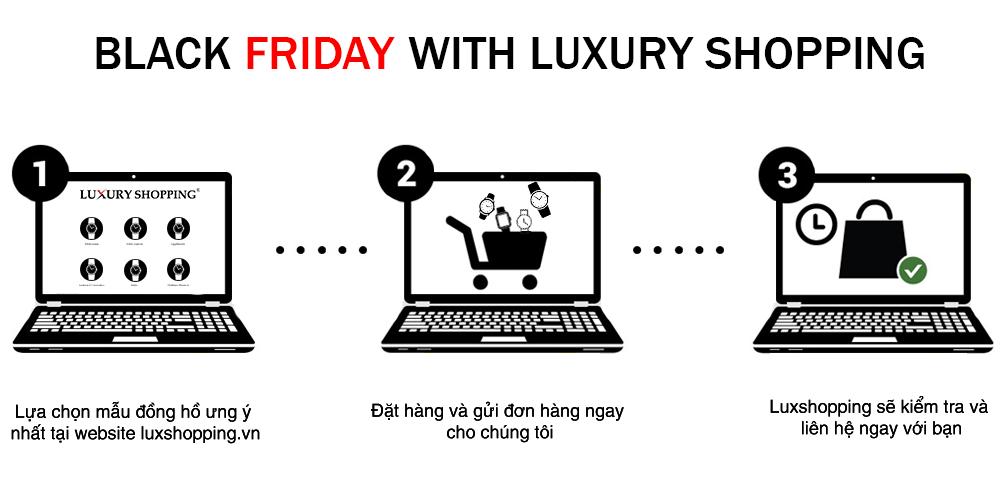 3 cách mua hàng cho dịp Black Friday tại Luxury Shopping