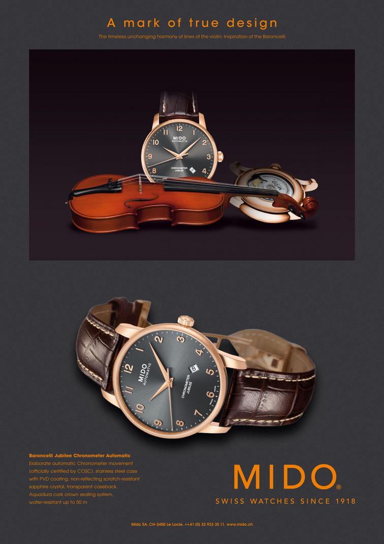 đồng hồ mido Baroncelli