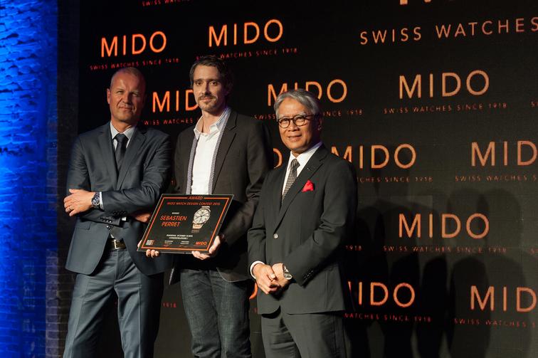 thương hiệu tổ chức cuộc thi thiết kế đồng hồ MIDO