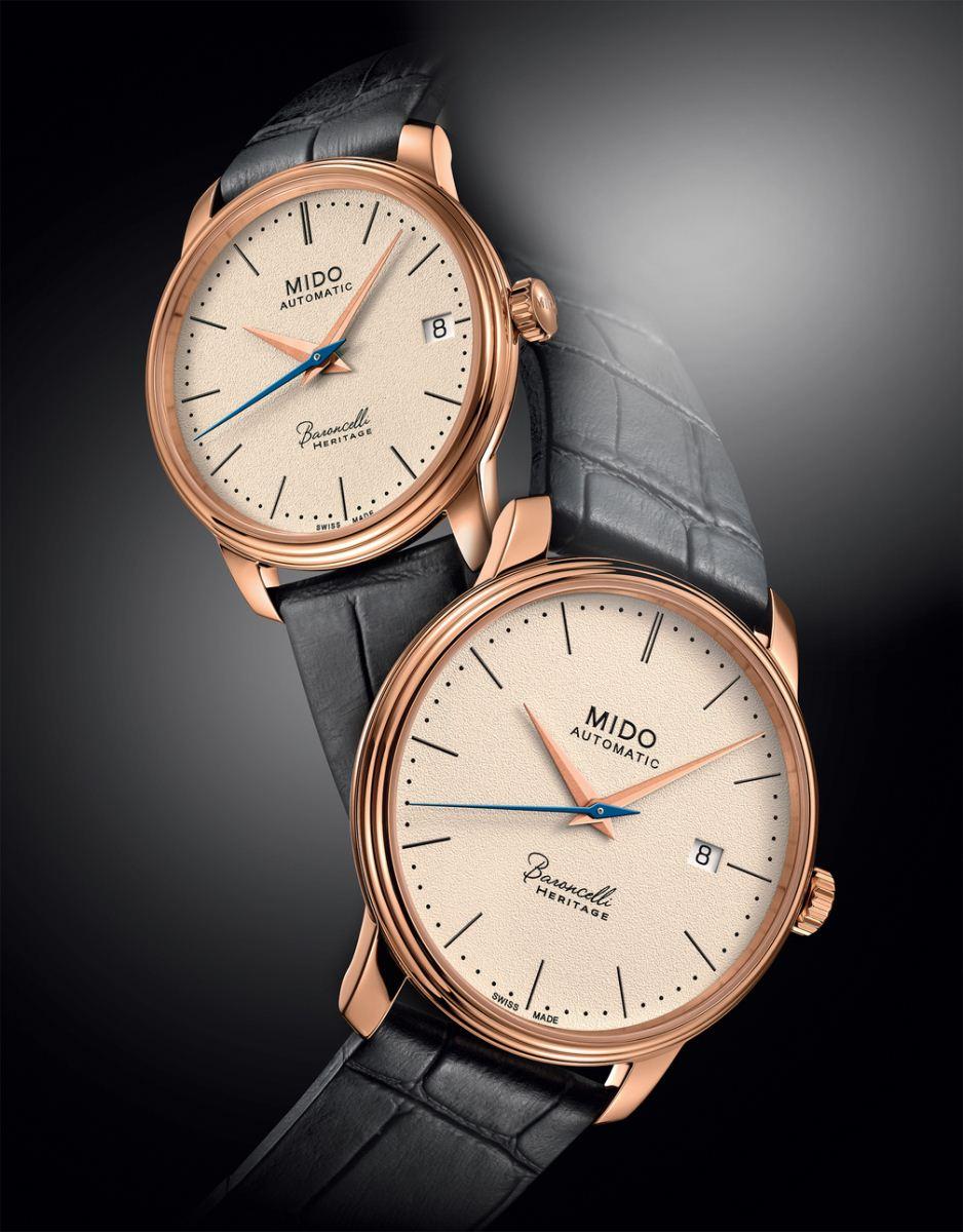 bộ sưu tập đồng hồ Mido Baroncelli