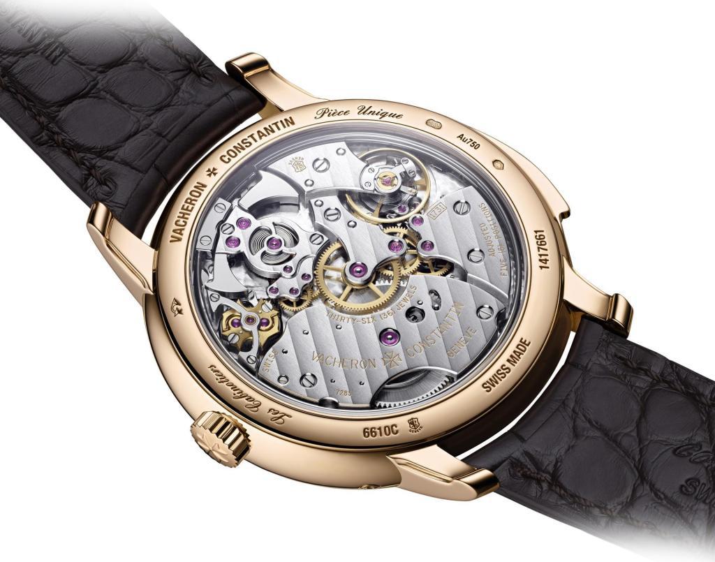 """Mặt lưng đồng hồ Vacheron Constantin """"La Musique du Temps"""" Les Cabinotiers Minute Repeater Perpetual Calendar"""