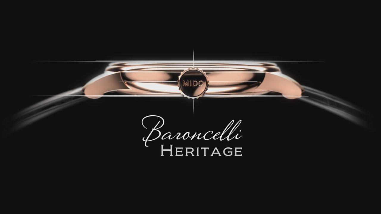 Banner đồng hồ Mido Baroncelli Heritage