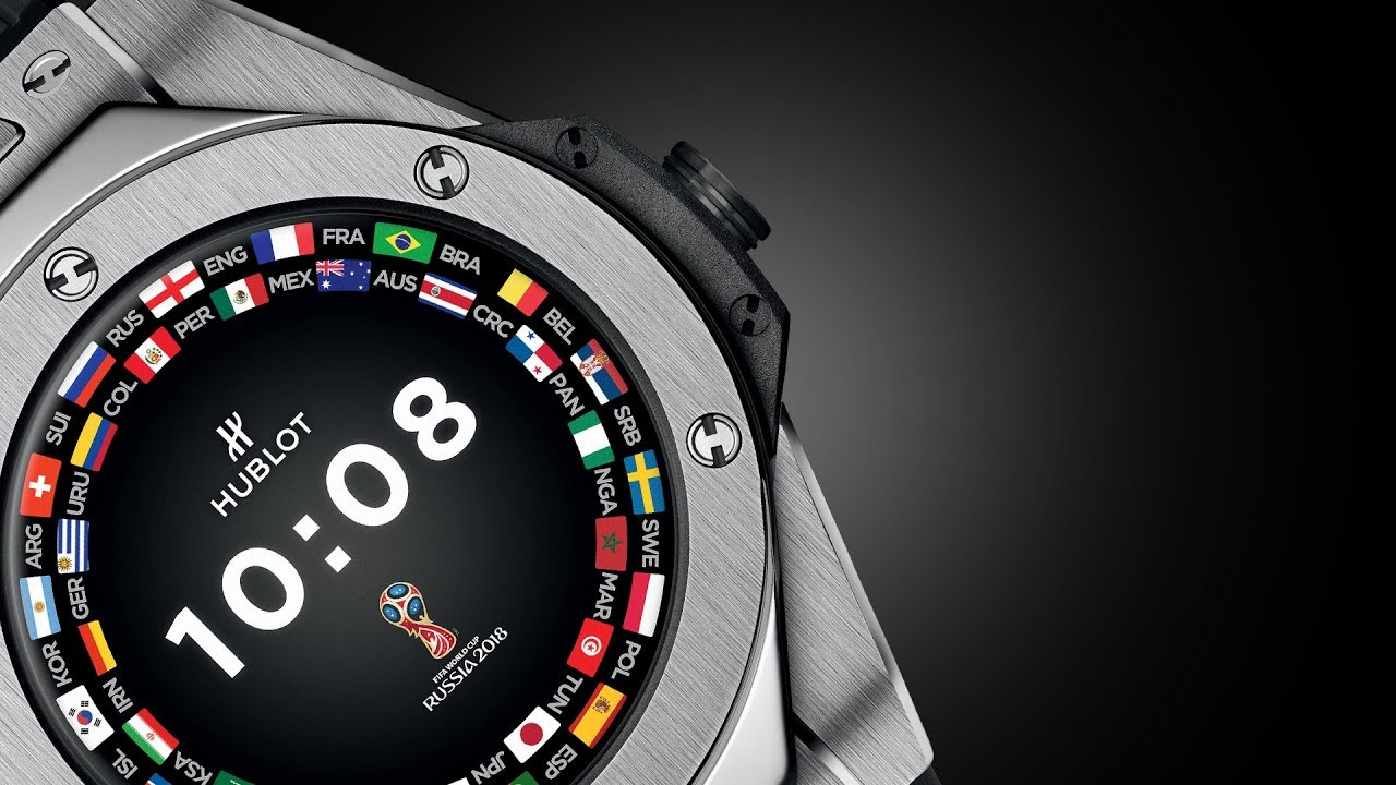 banner Big Bang Referee 2018 World Cup Russia™ Connected Watch