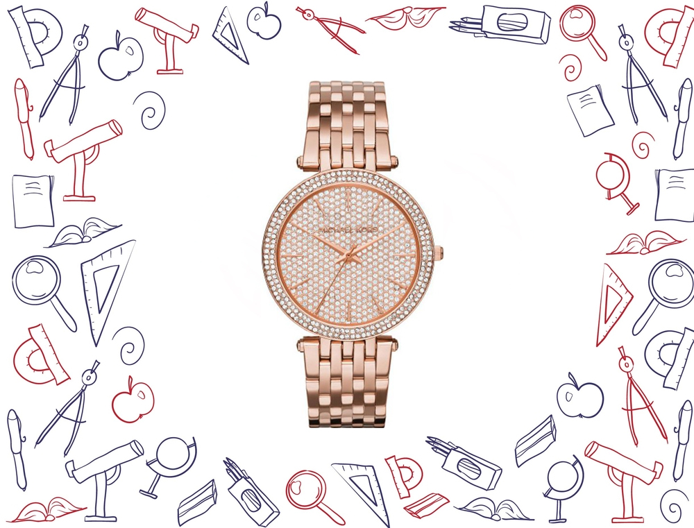 đồng hồ Michael Kors Darci Women's Rose Gold Watch 39mm