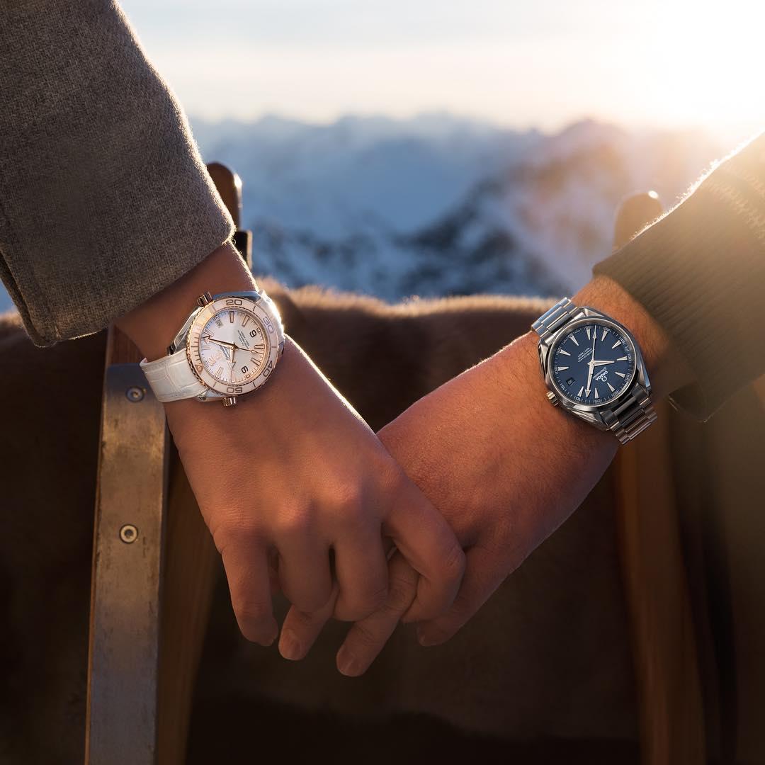 đồng hồ omega cặp đôi chính hãng