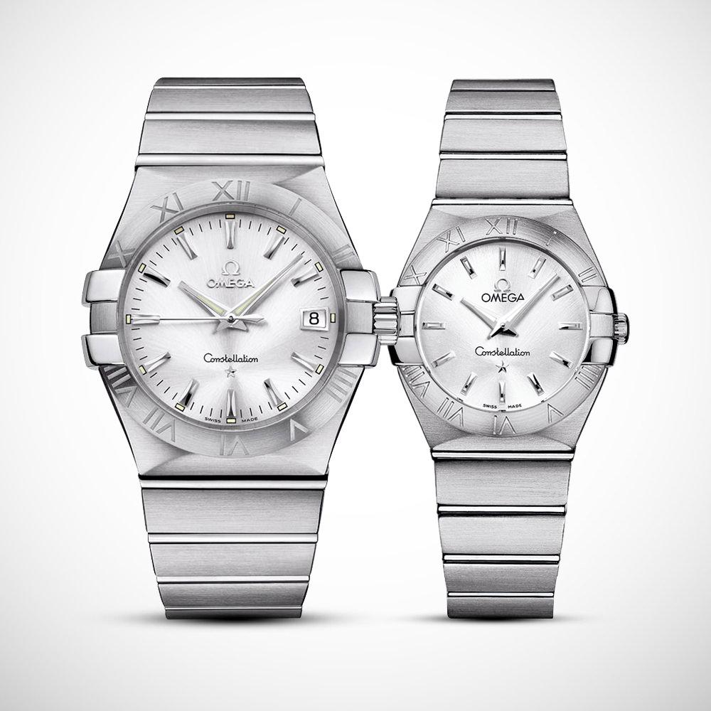 Đồng hồ cặp đôi Omega Constellation