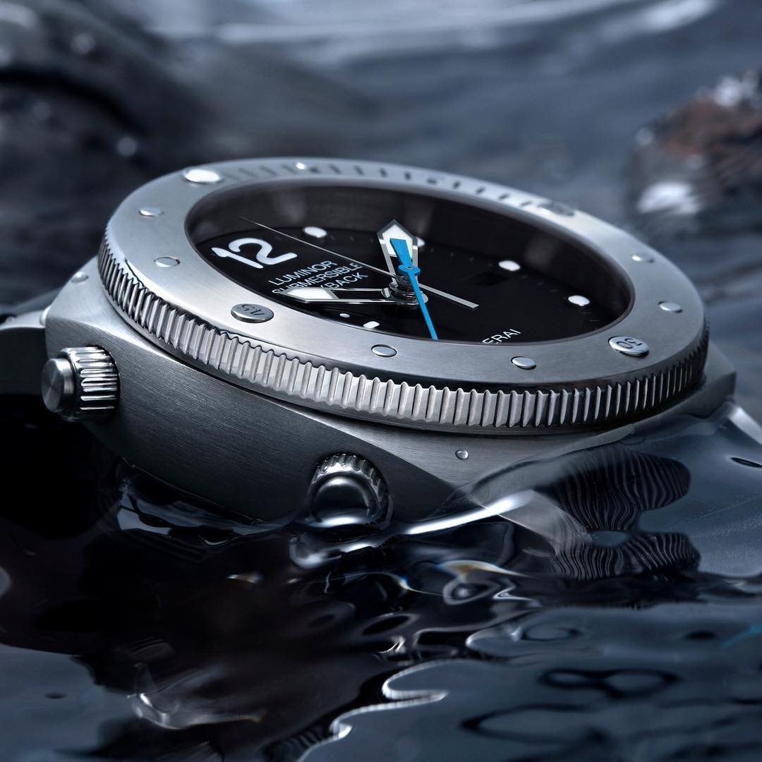 Đồng hồ Panerai Luminor Submersible 1950 3 Days Chrono Flyback Automatic Titanio PAM00614