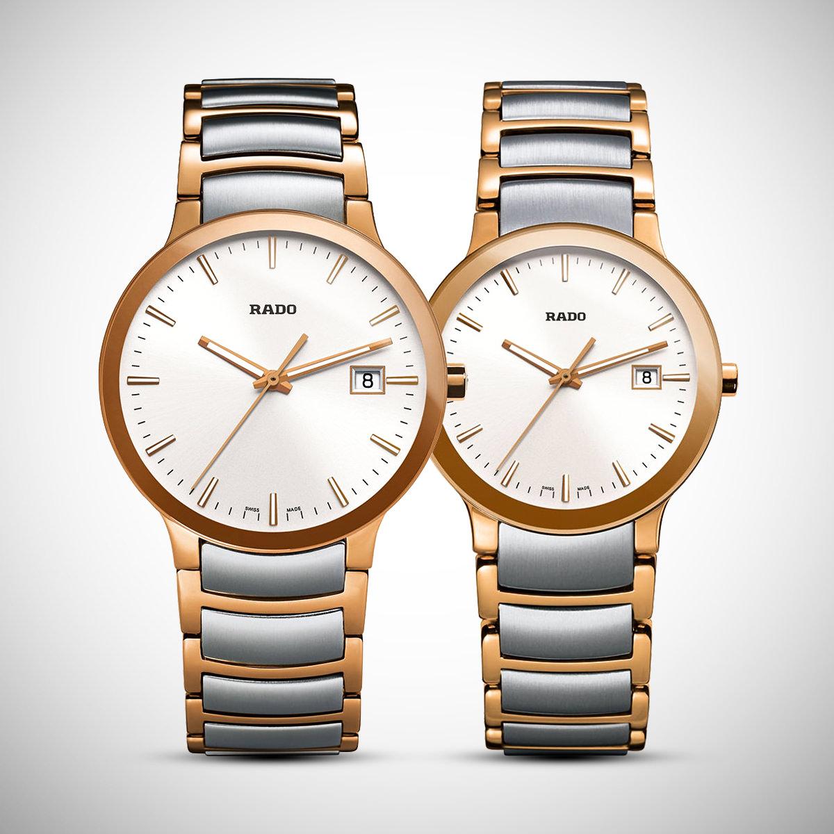 Đồng hồ cặp đôi Centrix đến từ Rado