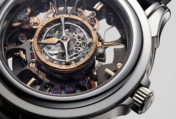 Omega De Ville Central Tourbillon Co-Axial Chronometer