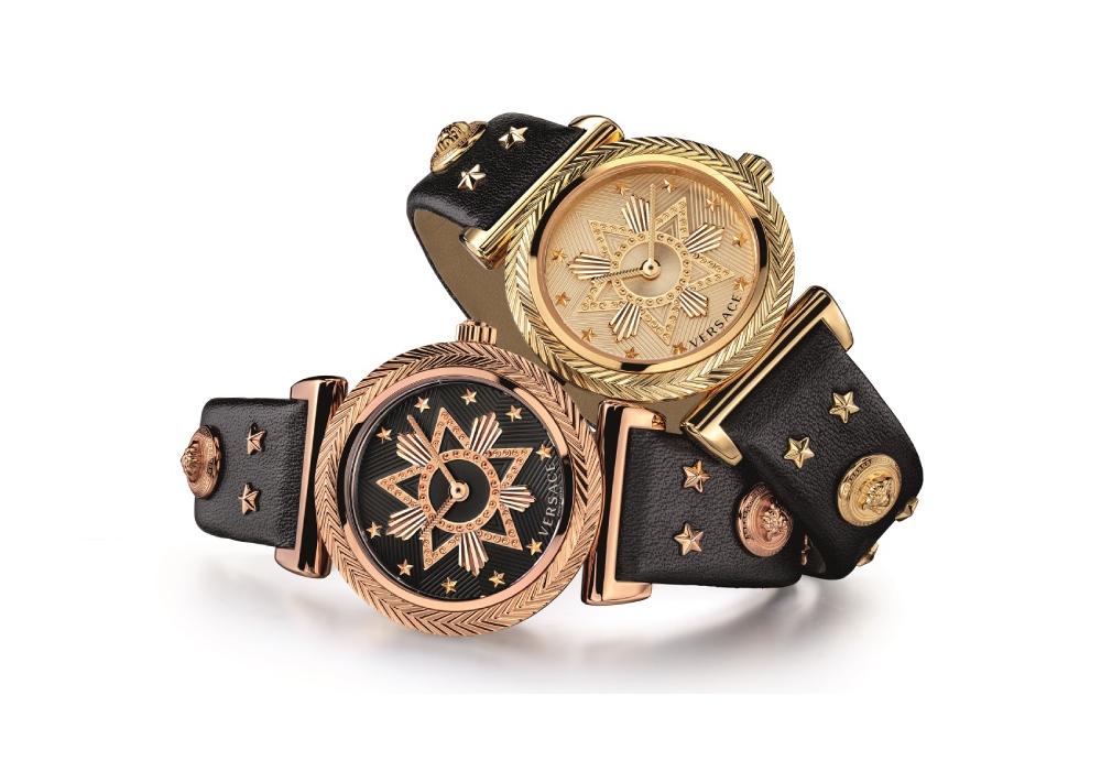 Đồng hồ Versace V-Motif Western lấy cảm hứng từ miền Tây nước Mỹ