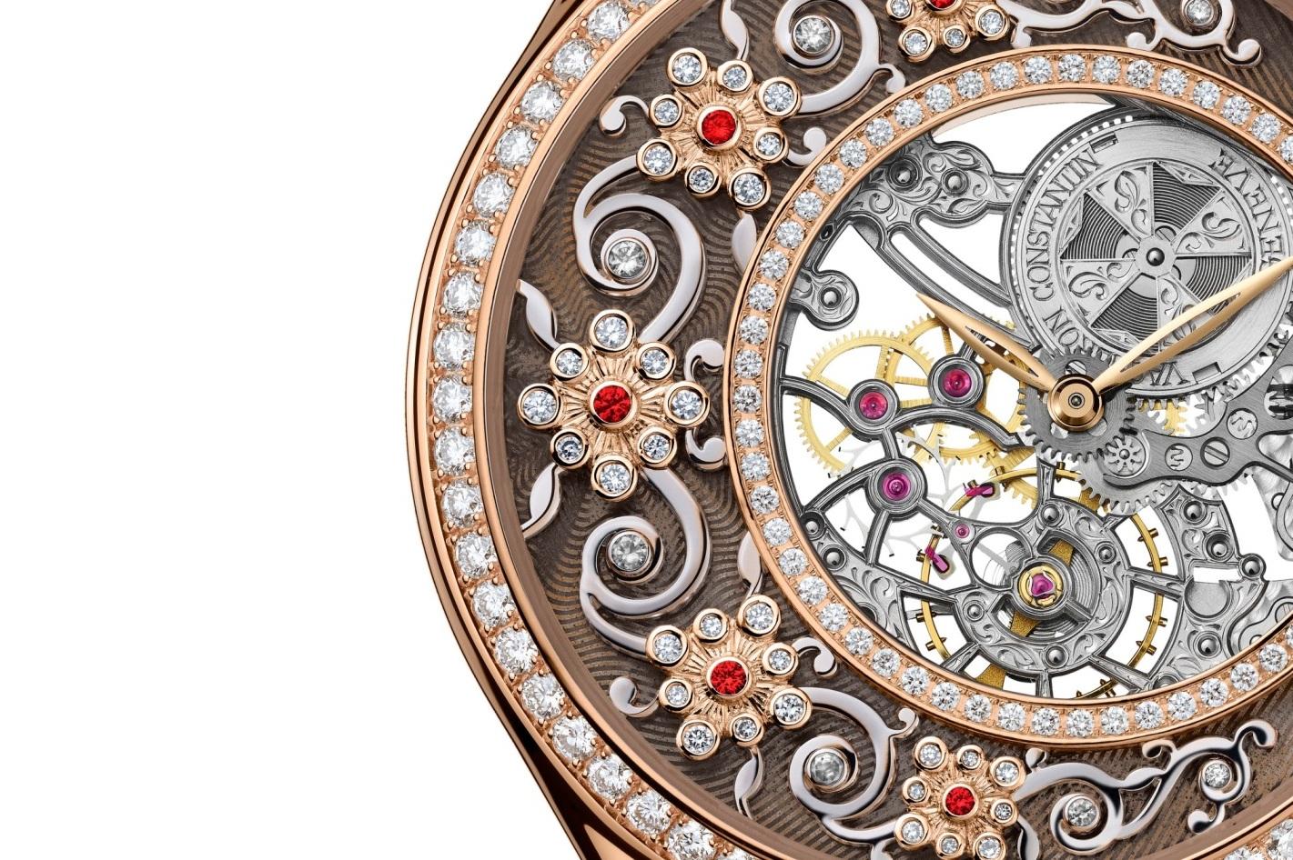 mặt số đồng hồ Vacheron Constantin Métiers d'Artux Ornements