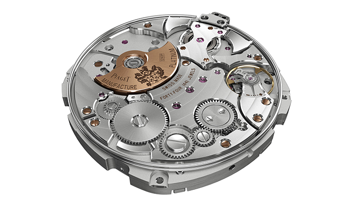 Piaget Emperador Coussin Minute Repeater Movement
