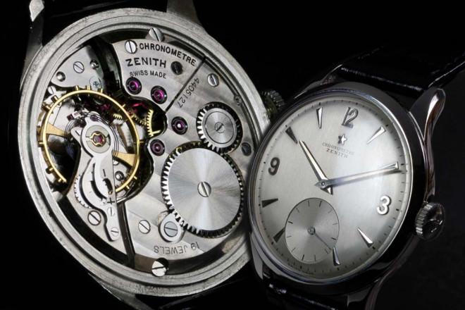 đồng hồ bỏ tui zenith chronograph đầu tiên vào năm 1899