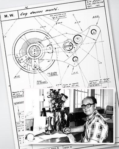 Nhà sản xuất đồng hồ Zenith Charles Vermot và kế hoạch ban đầu cho Zenith El Primero