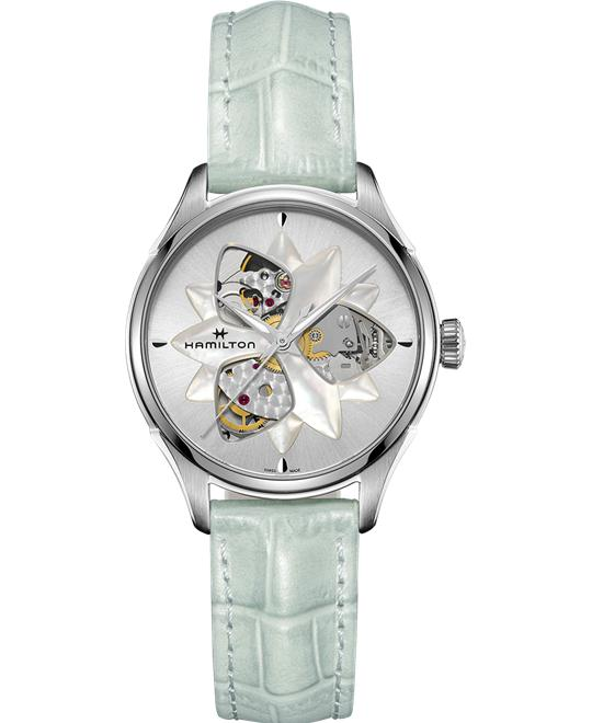 Hamilton Jazzmaster Open Heart Lady Watch 34mm