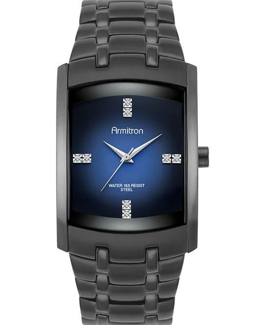 Armitron Men's Ion-Plated Black Watch 33mm