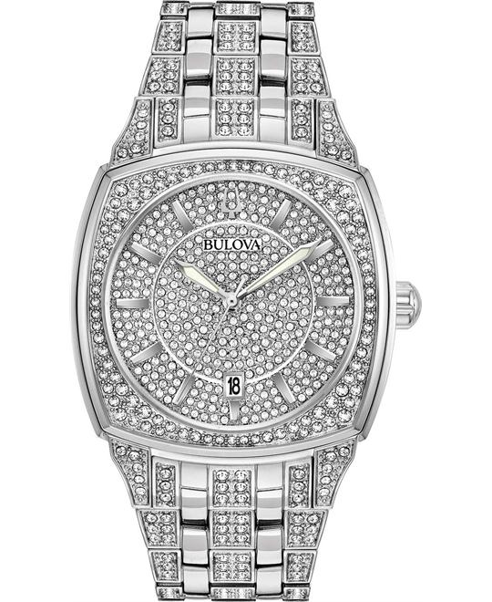 Bulova Phantom Swarovski Watch 40mm