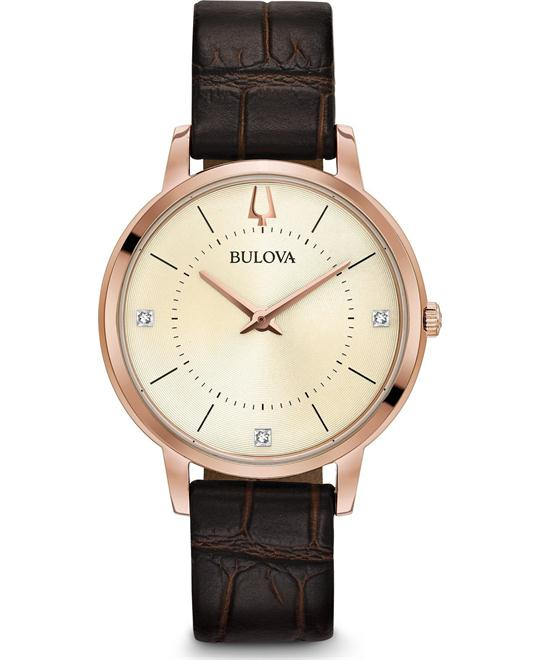 đồng hồ Bulova Classic Diamond Watch 36mm