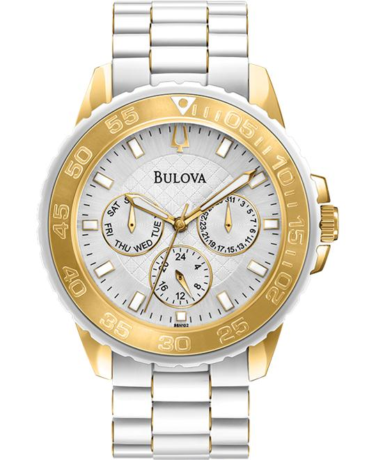Bulova Classic Rubber Watch 40mm