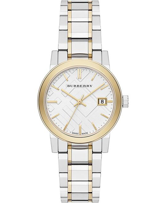 Burberry Swiss Two-Tone Women's Watch 34mm
