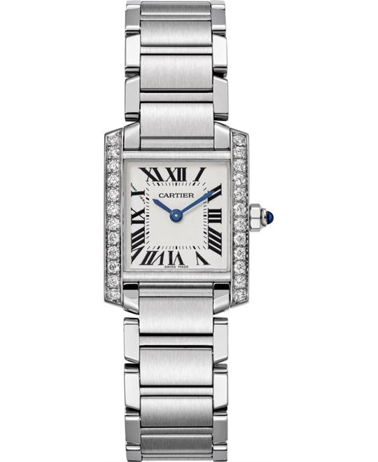Cartier Tank Francaise W4TA0008 Watch 25.20 X 20.30mm