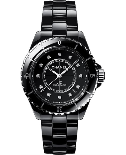 Chanel J12 H5702 Automatic Diamond Watch 38mm