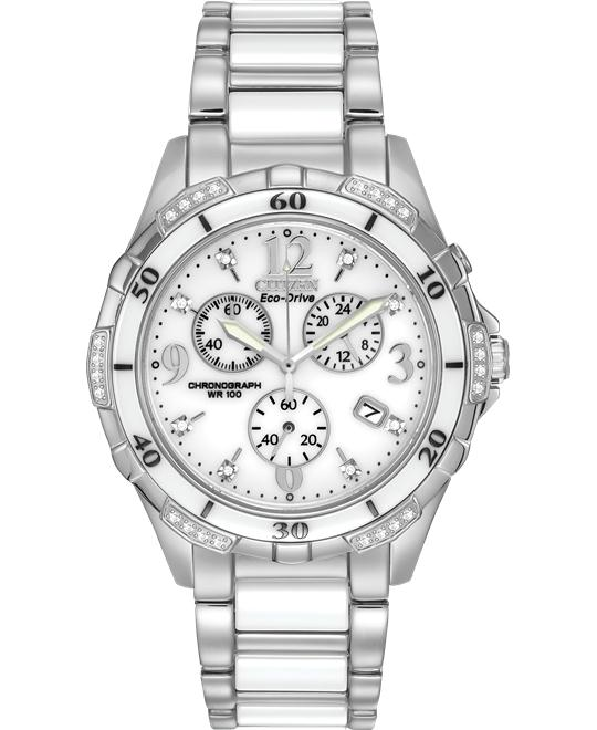 Citizen Silhouette Diamond Sport Watch 40mm