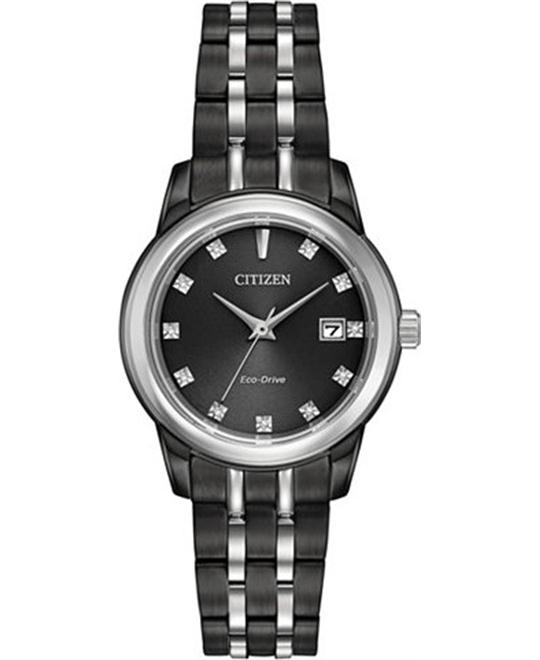 Citizen Corso Diamond Eco-Drive Watch 27mm