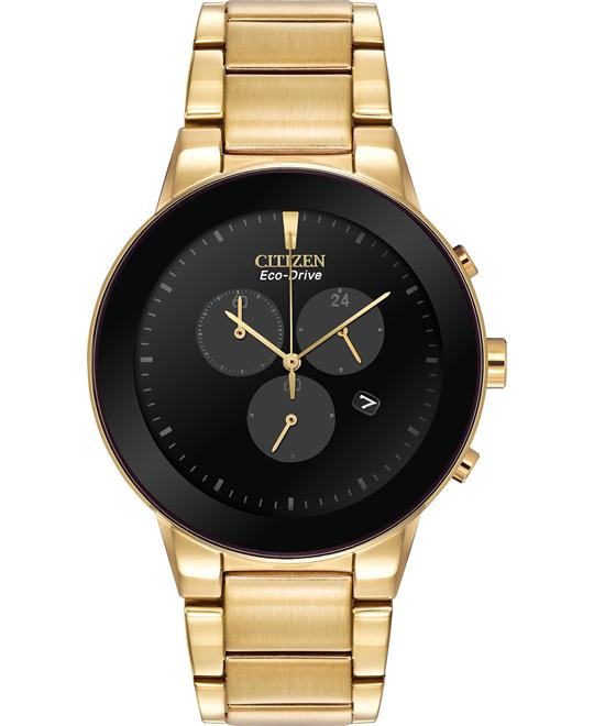 CITIZEN Axiom Eco Drive Chronograph Watch 43mm