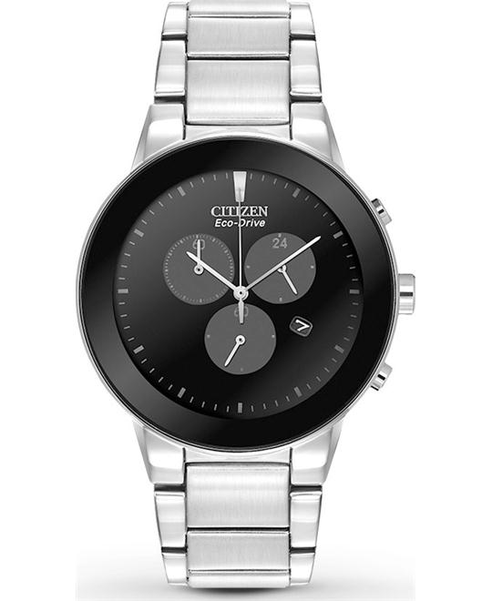 CITIZEN Axiom Eco-Drive Chronograph Watch 43mm