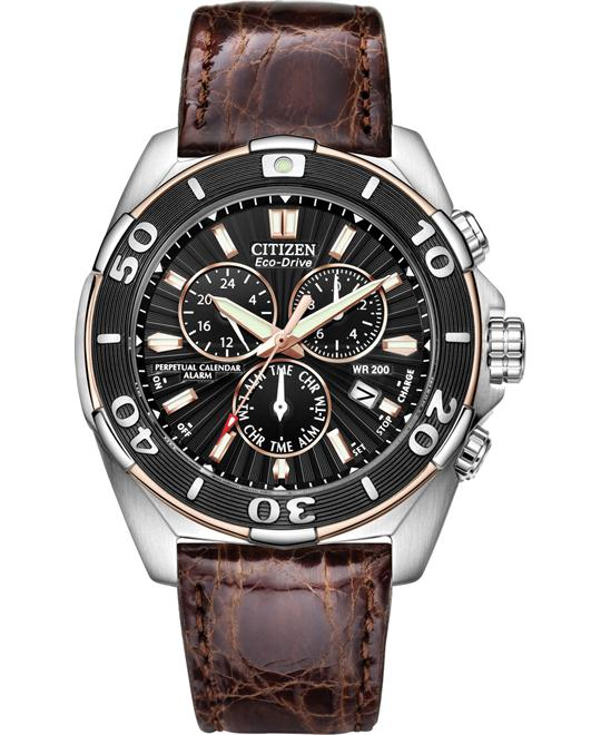 Citizen COURAGEOUS Chronograph Watch, 43mm