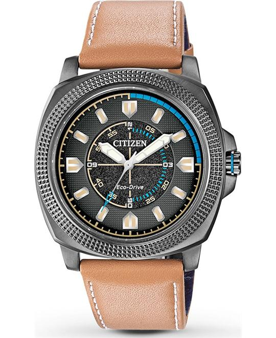 Citizen Drive CTO Display Quartz Beige Watcg 48mm