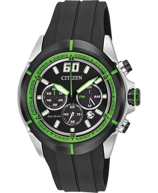 Citizen DRIVE Eco-Drive HTM Chronograph Polyurethane 44mm
