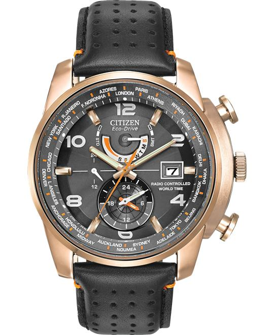 Citizen World Time A-T Eco-Drive Watch 43mm
