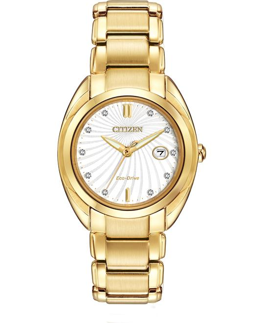 Citizen Women's Celestial Japanese Gold Watch, 27mm