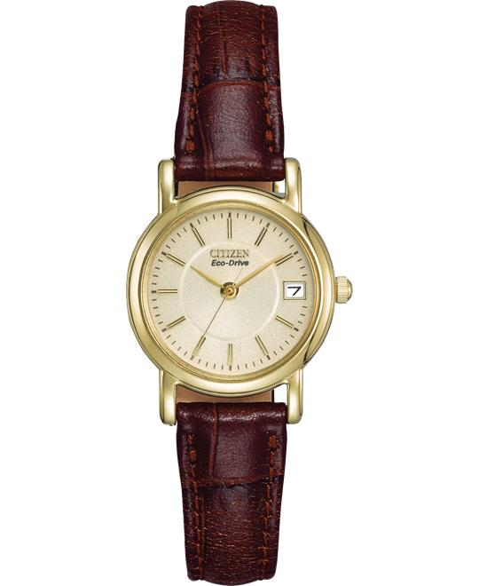 Citizen Women's Eco-Drive Gold-Tone Watch 23