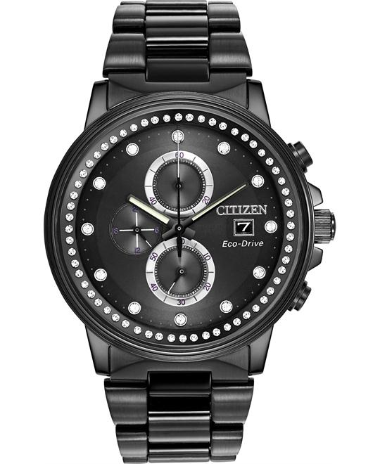 Citizen Women's Nighthawk Japanese Watch, 42mm