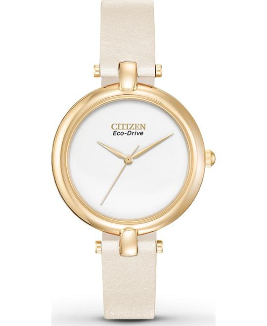 Citizen Silhouette Eco-Drive Watch, 34mm