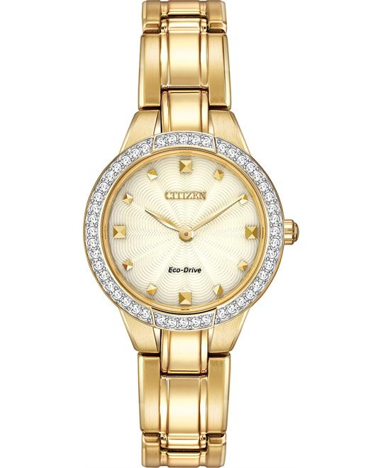 Citizen Women's Silhouette Japanese Watch, 27mm