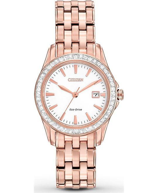 Citizen Women's Silhouette Japanese Watch, 28.5mm
