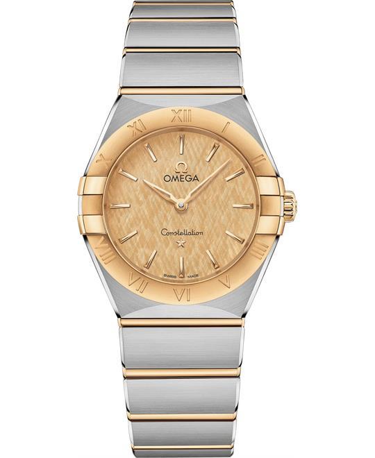 đồng hồ nữ OMEGA CONSTELLATION 131.20.28.60.08.001 MANHATTAN 28