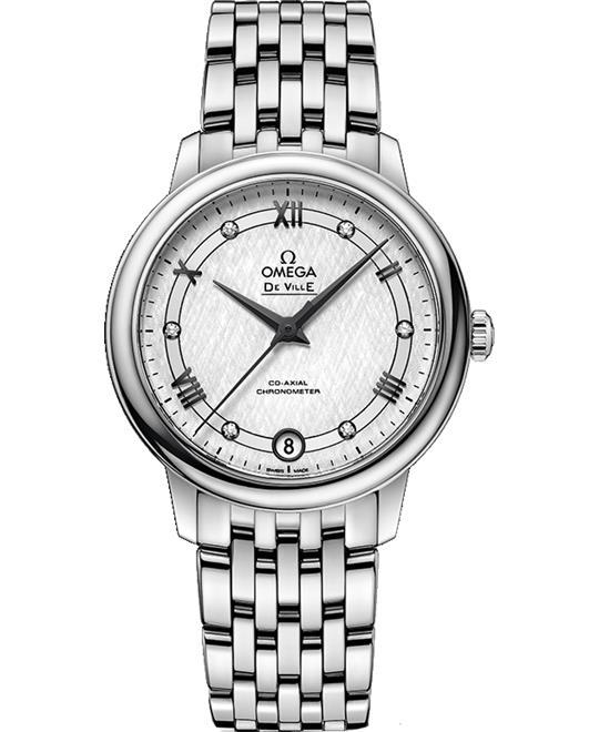 đồng hồ Omega De Ville 424.10.33.20.52.002 Diamonds 32.7mm