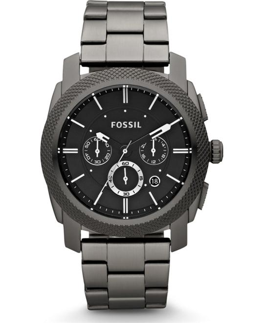 Fossil Men's  Stainless Steel Watch 45mm