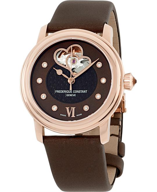 Frederique Constant FC-310CDHB2P4 Double Heart Watch 34mm